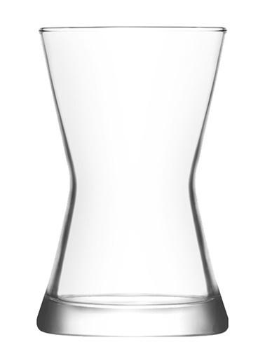 Lav 6'lı Derin Çay Bardağı Renksiz